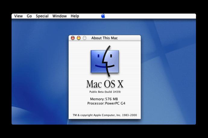 Stephen Hackett氏の公開した、2000年以来各Mac OSリリースの1,500スクリーンショットは一見の価値あり!