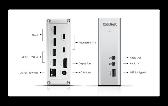 CalDigit TS3 Plus 005 z