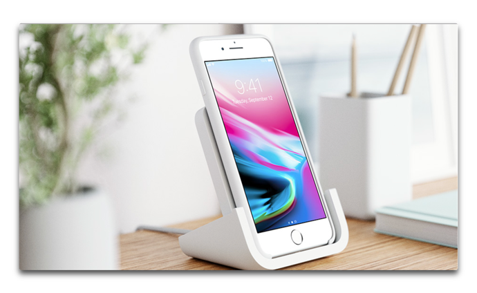 Apple、Online Storeでロジクール「Logicool Powered Wireless Charging Stand」の販売を開始