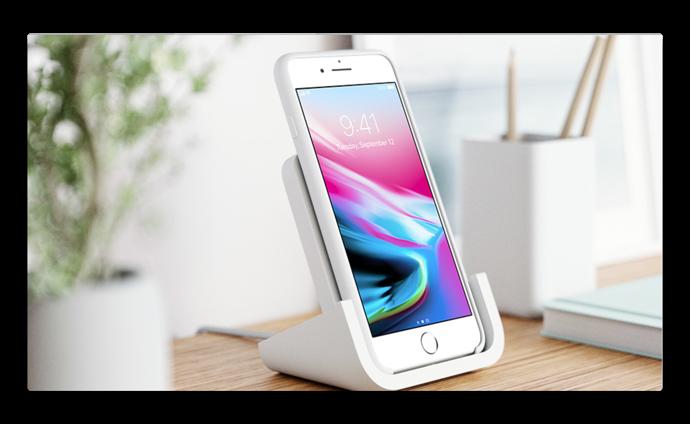 Logitech、Appleが設計した「Powered for iPhone」iPhone 8&iPhone Xワイヤレス充電スタンドを発表