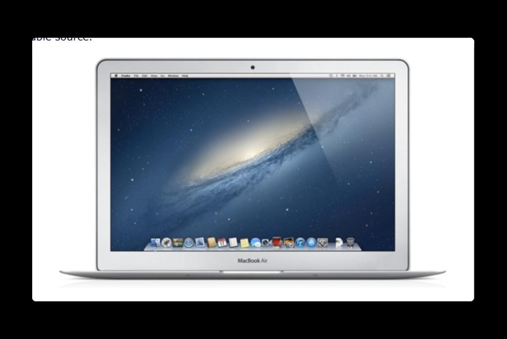 2012年MacBook Air、パイロットプログラムのおかげでAppleから2年間の追加サポートを受ける