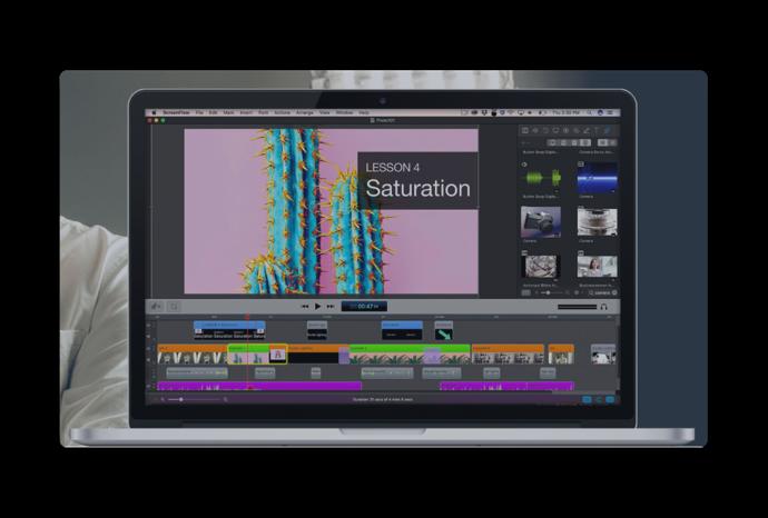 Telestream、Macの画面を録画するツール「ScreenFlow 8」をリリース