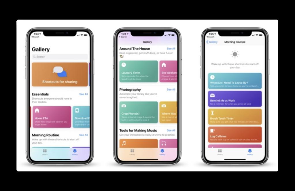 Apple、「Shortcuts beta 4 ( 1A42 )」を開発者にリリース、iCloudo同期とその他の新機能
