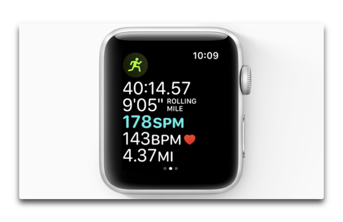 Cadence and pace alerts watchOS 5 002