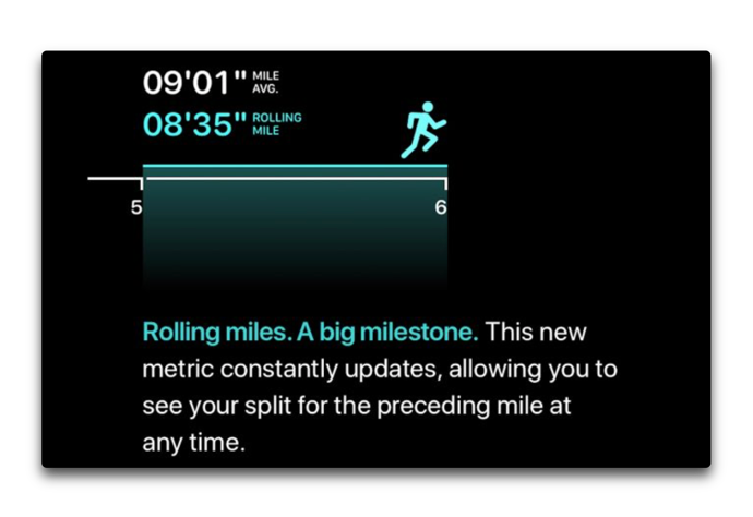 Cadence and pace alerts watchOS 5 003 z