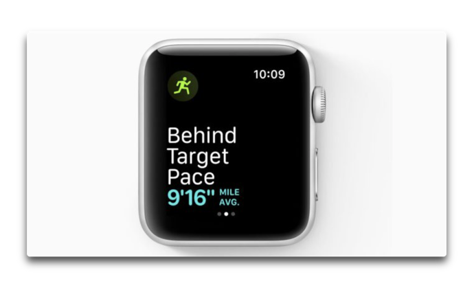 Cadence and pace alerts watchOS 5 005