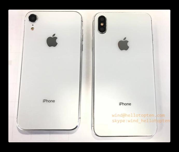 2018年のiPhone X Plusと6.1インチLCD iPhoneの新たなリーク