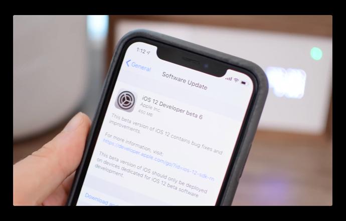 iOS 12 beta 6の新機能と変更点のビデオが公開