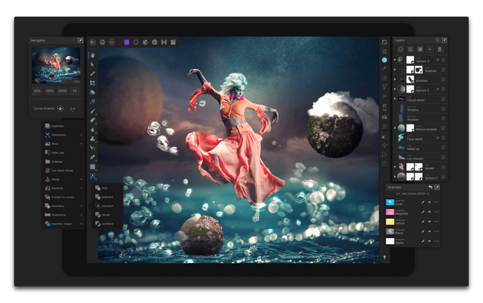 【iPad】画像編集アプリ「Affinity Photo」が新機能でバージョンアップ、期間限定で30%オフ