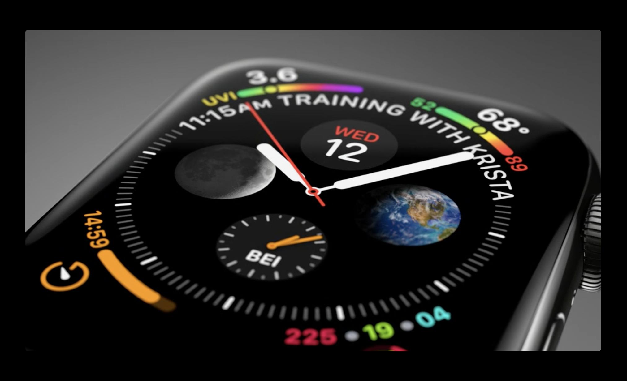Apple、「Apple Watch Series 4」にフォーカスしたビデオ3本を公開