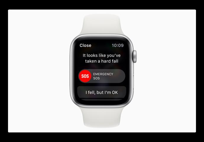 Apple Watch Series 4の転倒検出のビデオテスト