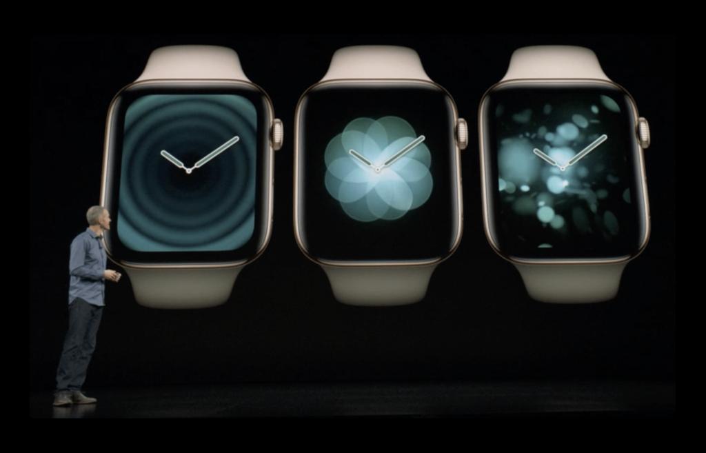 watchOS 5、既存のApple Watchに4種類で計9の新しい文字盤