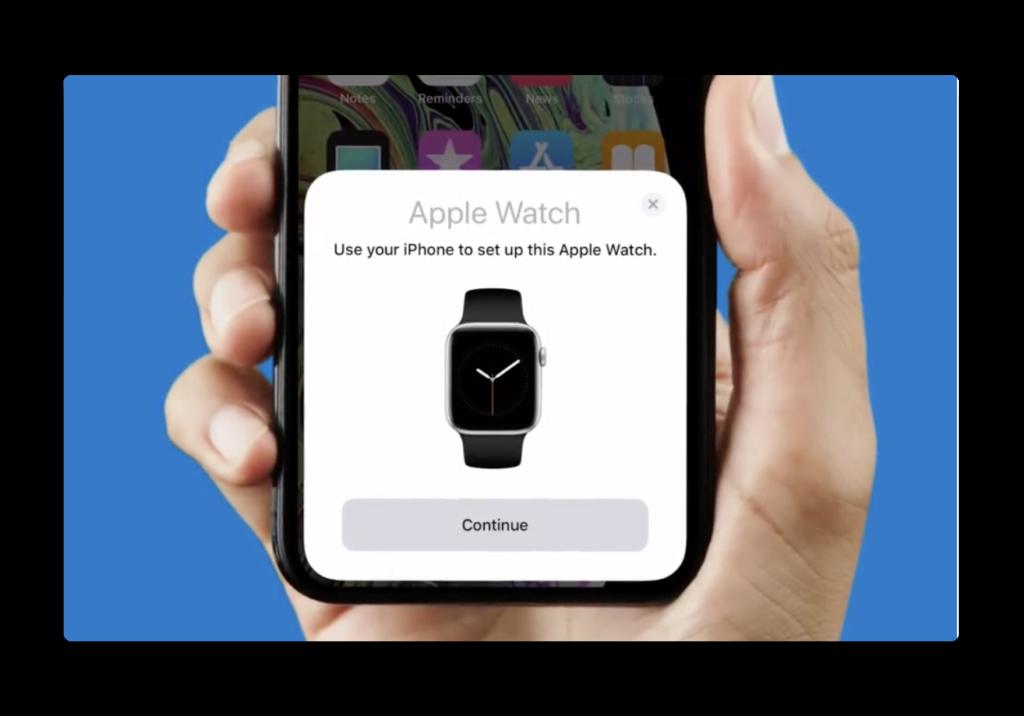 新しいApple Watchと新しいiPhoneの両方を購入した場合、情報を失わないための正しいペアリング方法