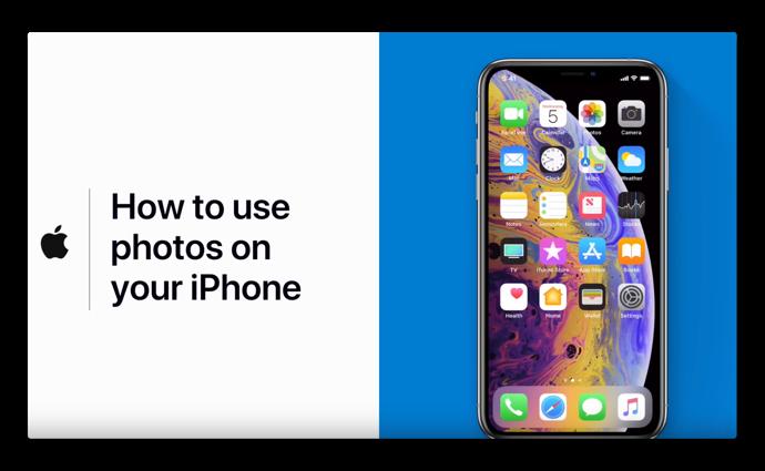 Apple Support、「iPhoneで写真を使用する方法」のハウツービデオを公開