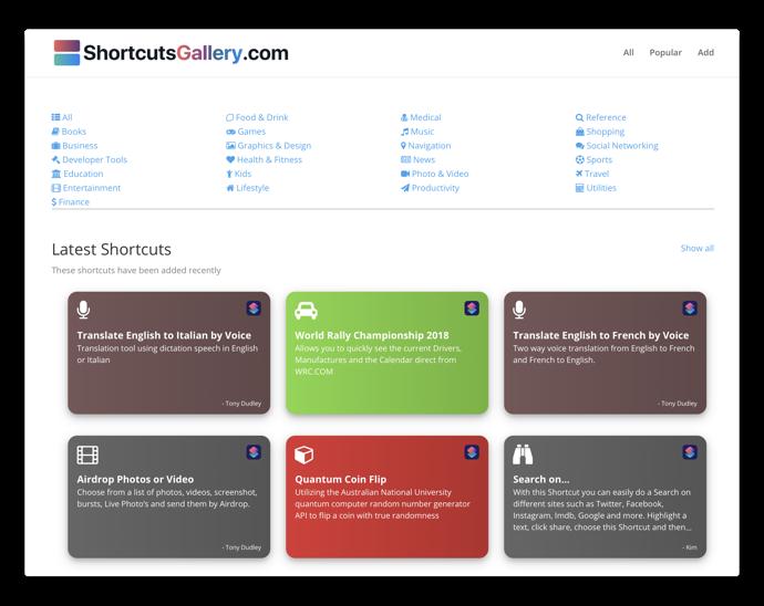 ShortcutGallery 001