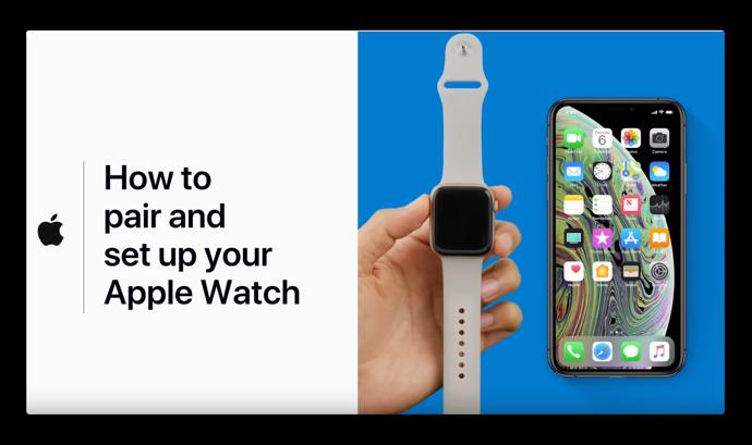 Apple Support、「Apple Watchをペアリングして設定する方法」のハウツービデオを公開