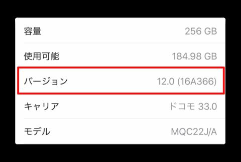 iOS 12 GMまたはiOS 12 betaをインストールしている場合、iOS 12正式版をOTAで入手出来るか