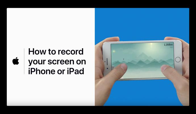 Apple Support、「iPhoneまたはiPadで画面を記録する方法」に関するハウツービデオを公開