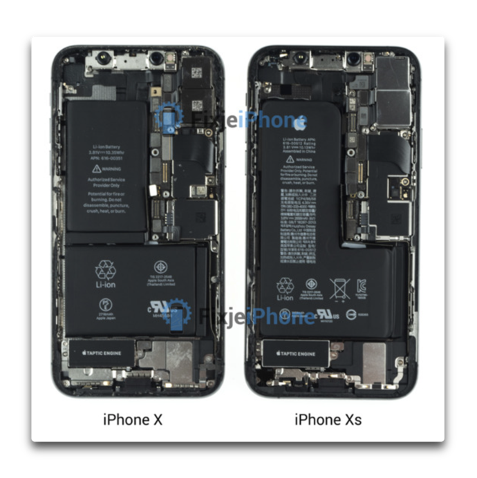 IPhone XS teardown 002