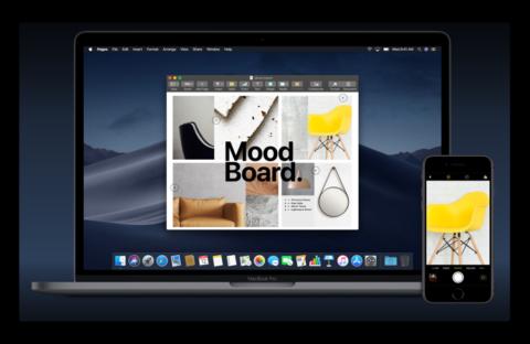【macOS Mojave:新機能】iPhoneやiPadの撮影画像をMacに自動転送できる、連係カメラ機能