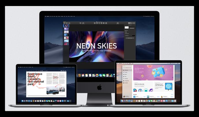macOS Mojave 10.14 でのアプリケーション互換情報