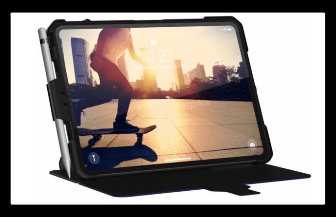12.9インチ iPad Pro 2018のUAGのモックアップケースから明らかになるもの