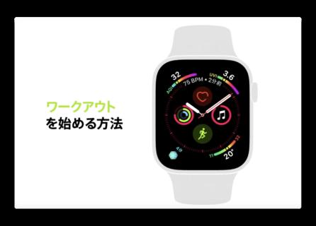 Apple Japan、Apple Watch Series 4の機能にフォーカスした新しいCF3本を公開