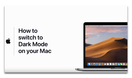 Apple Support、「Macでダークモードに切り替える方法」のハウツービデオを公開