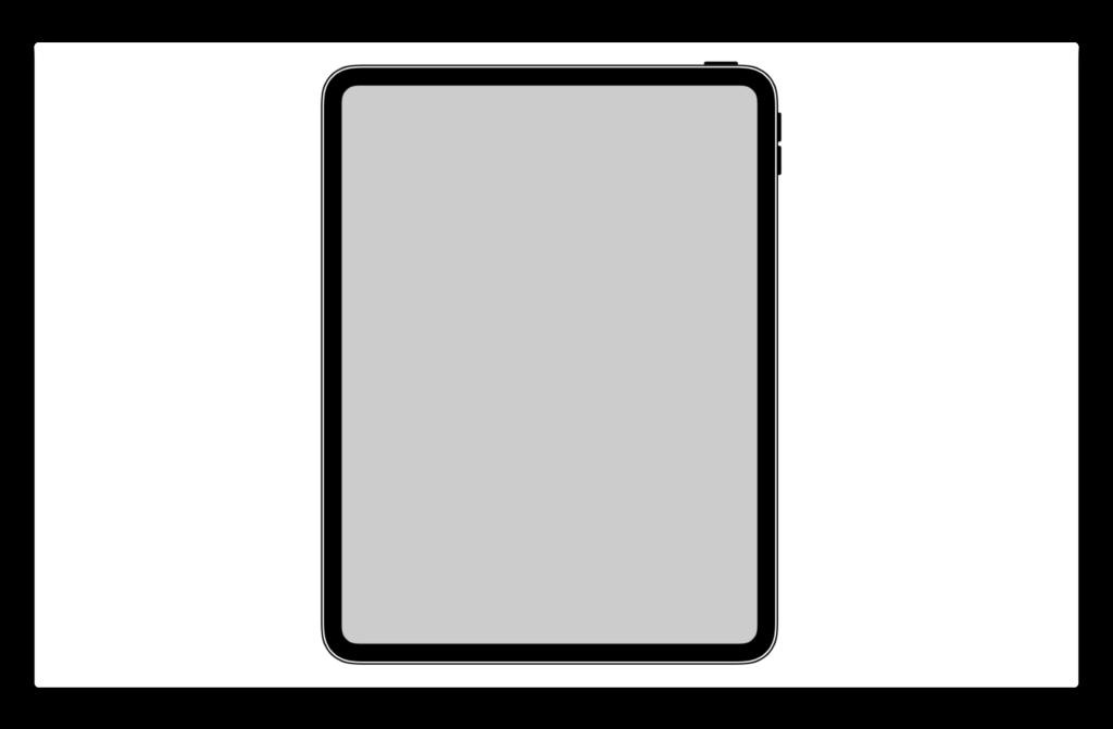 iOS 12.1 beta 5でiPad Pro 2018のHomeボタンがないなどの詳細なアイコンが見つかる