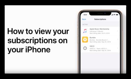Apple Support、「iPhoneとiPadであなたのサブスクリプションを見る方法」のハウツービデオを公開