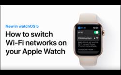 Apple Support、「Apple WatchでWi-Fiネットワークを切り替える方法」のハウツービデオを公開