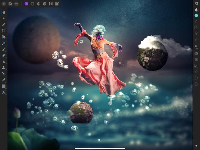 Serif Labs、iPad Pro 2018とApple Pencil 2をサポートした「Affinity Photo」「Affinity Designer」をリリース