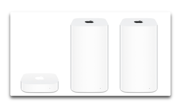 Apple、Online StoreとStoreからAirMacが姿を消す