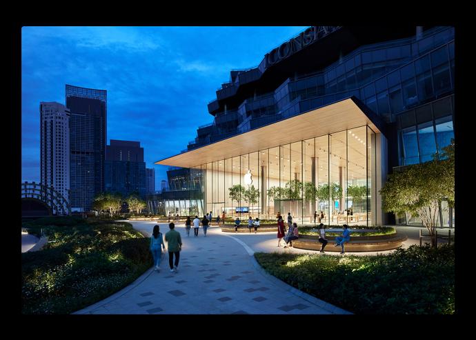 Apple、タイのバンコクにApple Iconsiamをオープン
