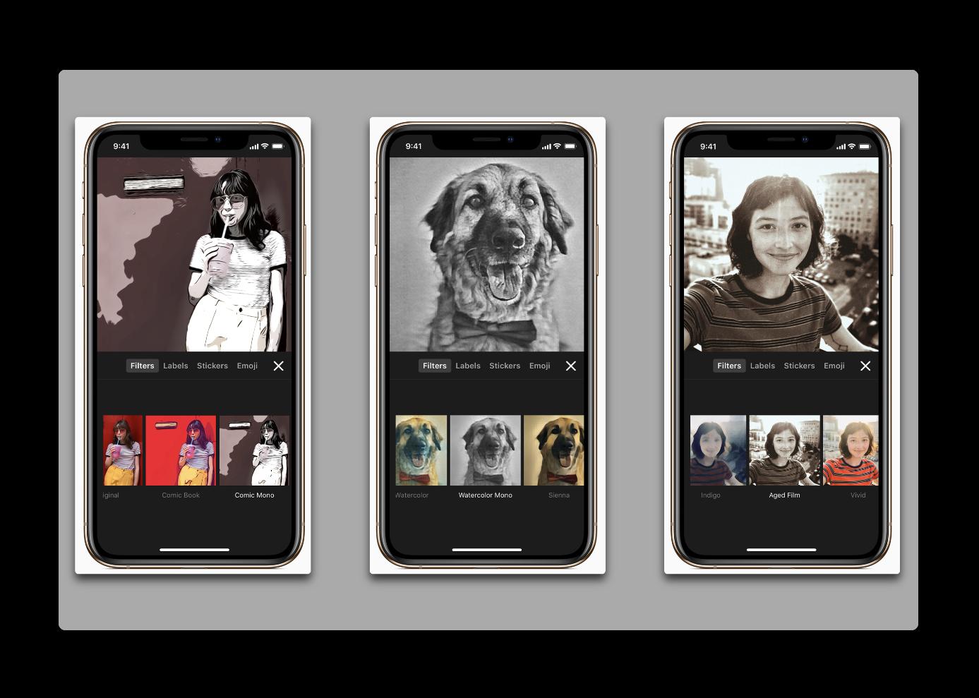 Apple、新しいシーンや、ステッカー、サウンドトラックなどを追加した「Clips 2.0.5」をリリース