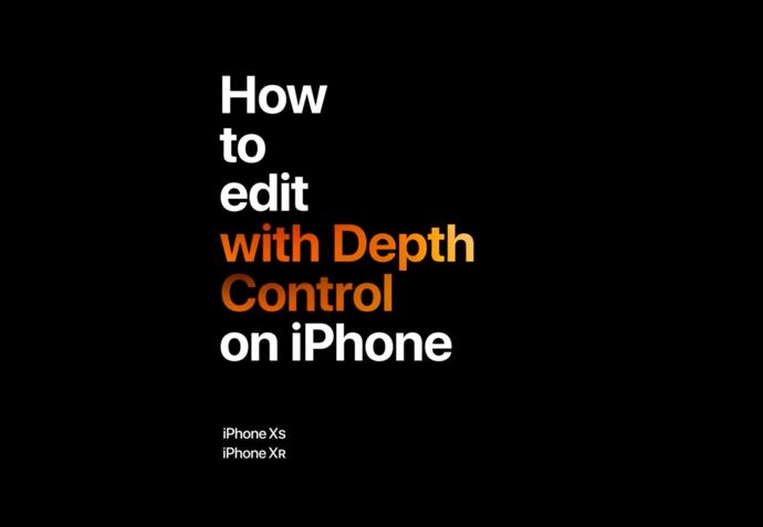 Apple、iPhoneのポートレートモードに焦点をあてた「iPhoneのデプスコントロールで編集する方法」の新しいCFを公開
