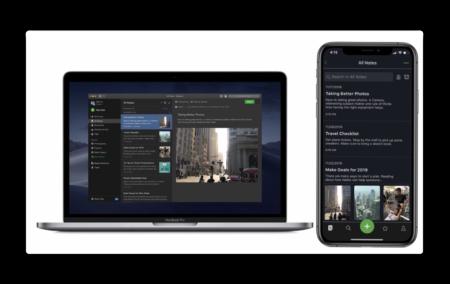 Evernote、macOSでダークモードをサポート、iOSも同様に