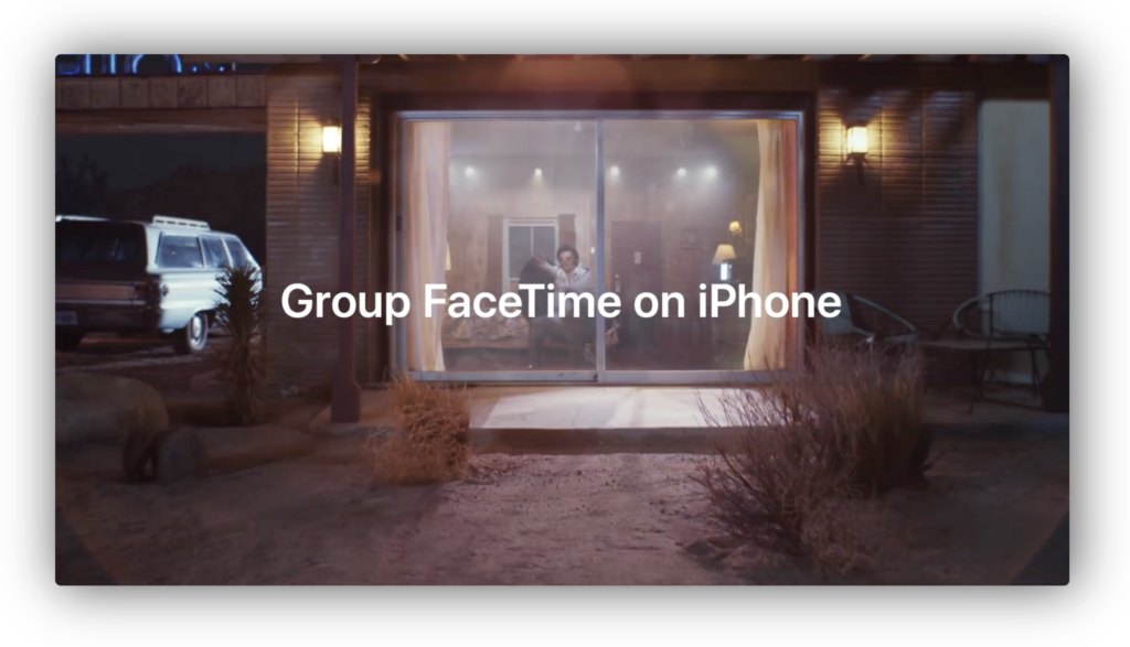 Apple、Group FaceTimeに焦点をあて「Group FaceTime on iPhone」と題する新しいCFを公開