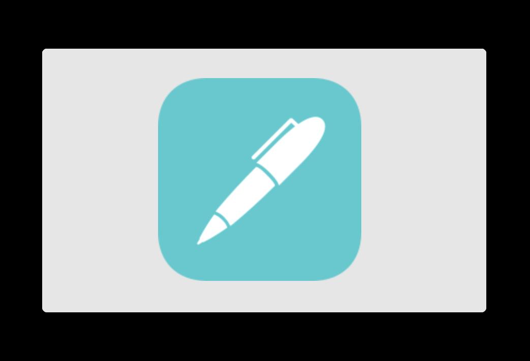 「Noteshelf 2」バージョンアップで、Apple Pencil 2のダブルタップをサポート