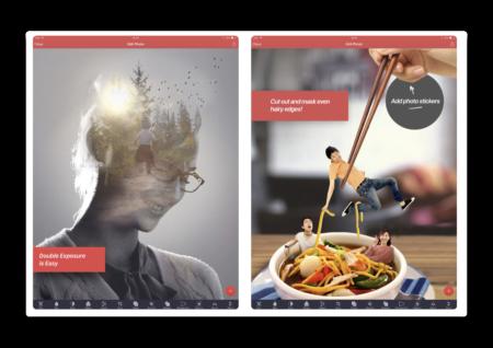 【iOS】デスクトップ品質の画像マスキングと編集ツール「Pixomatic photo editor」期間限定で無料