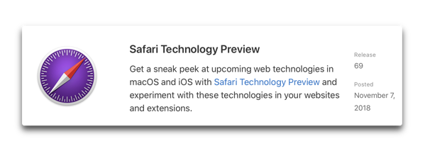 Safari Technology Preview 69 00001