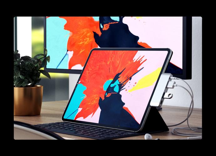 Satechi、iPad Pro 2018用USB-Cハブを発表