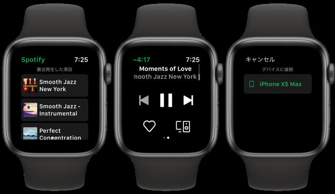 Spotify Apple Watch 00003 z
