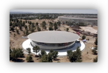 AppleのSteve Jobs Theatreが構造芸術賞を受賞
