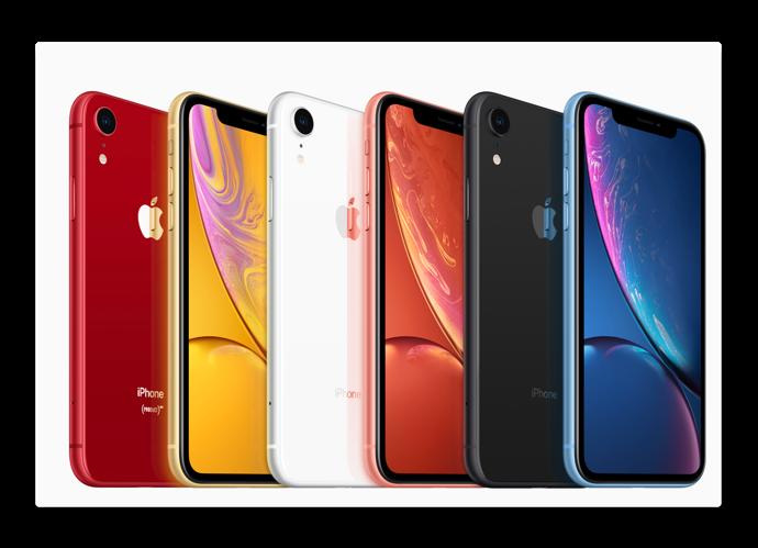新しいiPhone XRは 10月の発売以来、最も人気がありベストセラーiPhoneとなっている