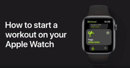 Apple Support、「Apple Watchでトレーニングを始めるには」と題するハウツービデオを公開