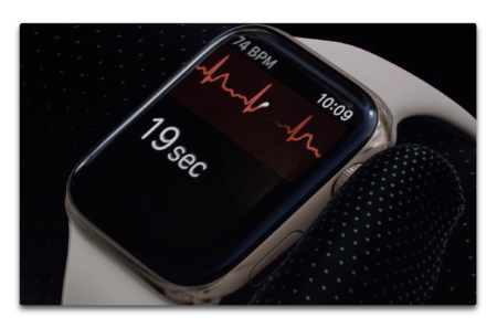 watchOS 5.1.2正式版がリリースされると、Apple Watch Series 4で心電図(ECG)が可能に