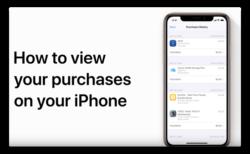 Apple Support、「iPhoneであなたの購入を見る方法」のハウツービデオを公開
