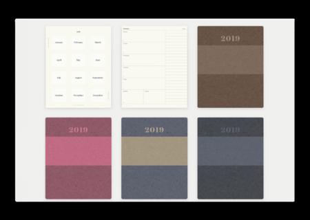 【iOS】手書きも出来るノートアプリ「Noteshelf 2」バージョンアップで2019日記を追加