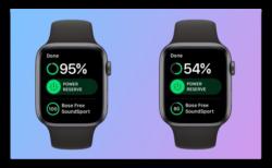 Apple Watch Series 4、ハーフマラソン(約2時間)後のバッテリ残量は50%以上